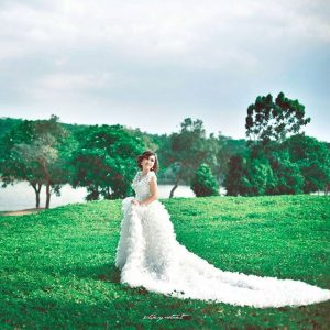 photo robe pour ceremonie mariee 198