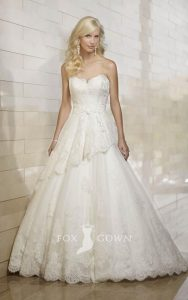 belle robe de mariée pour fare battre son coeur vu dans le 87