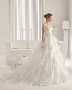 belle robe de mariée pour fare battre son coeur vu dans le 88