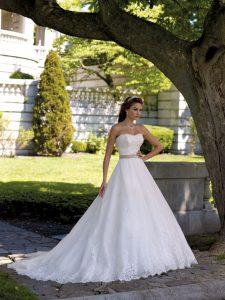 belle robe de mariée pour fare battre son coeur vu dans le 91