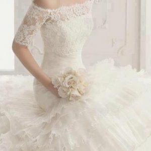 belle robe de qualité pour mariée satisfaite du 45