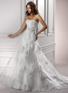 belle robe de qualité pour mariée satisfaite du 82