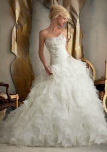 belle robe de qualité pour mariée satisfaite du 89
