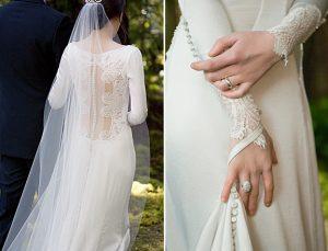 belle robe de qualité pour mariée satisfaite du 94