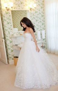 soyez la princesse dans le 74avec cette robe pour mariée