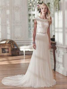 Robe de mariée tendance 2018 vu sur le 48
