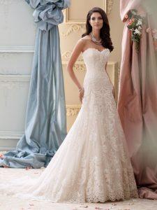 Robe de mariée tendance 2018 vu sur le 50