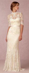 magnifique mariée dans sa robe sur le 38