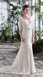 photo d'une robe pour un mariage dans le 69