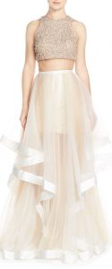 photo d'une robe pour un mariage dans le 77
