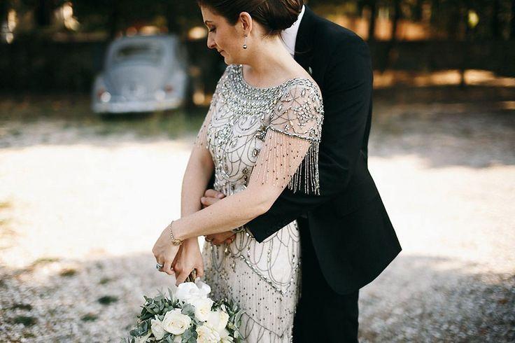 photo d'une robe pour un mariage dans le 84