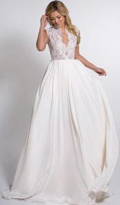 robe de mariée photo dans le 40