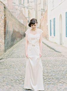 robe de mariée photo dans le 70
