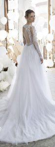 tendance 2018 pour cette robe de mariage dans le 38