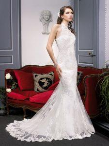 Bonheur dans robe de mariage 87