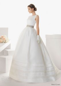 Robe stylée pour mariée 15