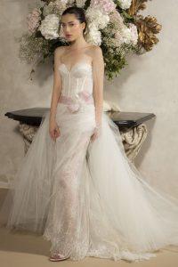 Tenue idéale mariage féminin 58