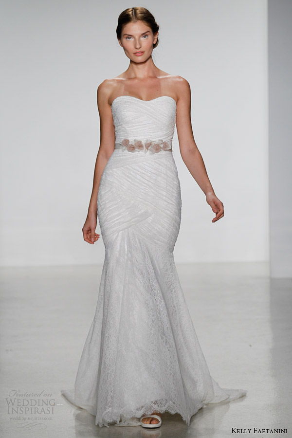 robe de mariée sans bretelle