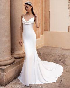 robe de mariée pour petite poitrine
